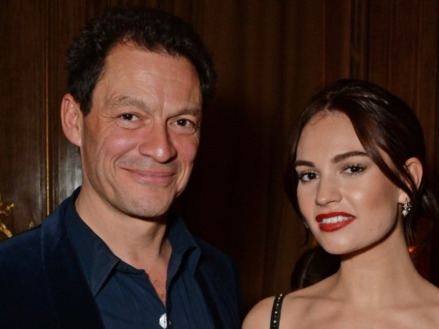 Lily James Speaks out Over Dominic West Kissing Photos Scandal