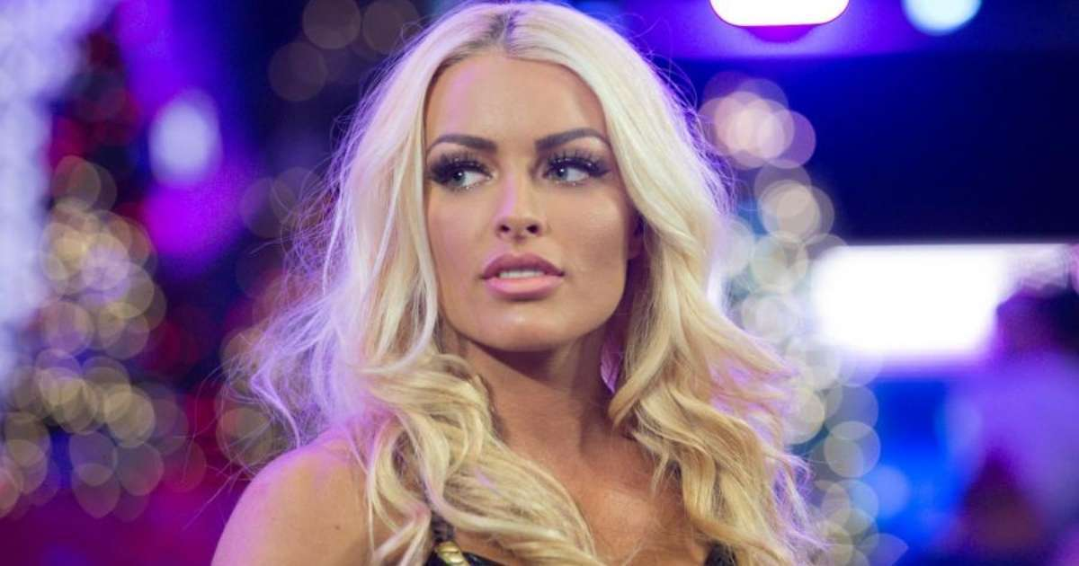 Mandy Rose reveals dot it all sultry photo
