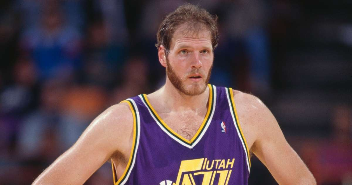 Mark Eaton Utah Jazz All-Star Dead 64