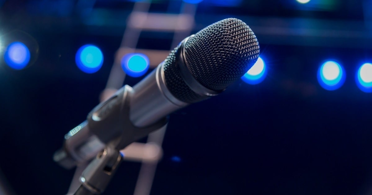 microphone getty images