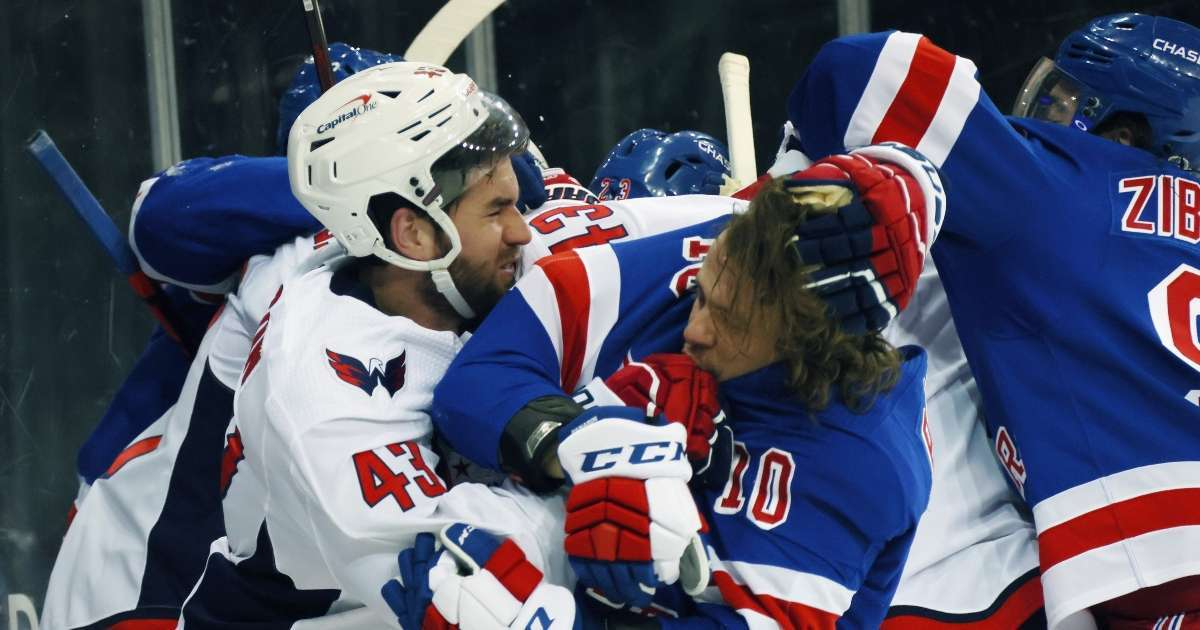 New York Rangers call for NHL executive fired not suspending Washington Capitals Tom Wilson