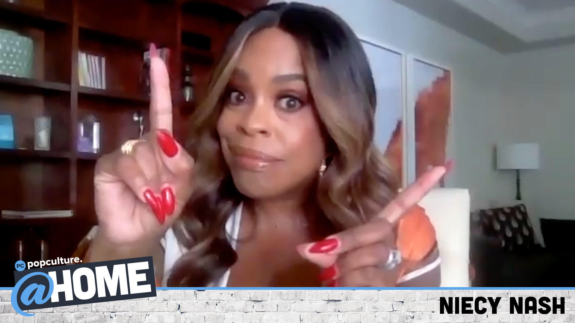 Niecy Nash - Exclusive Popculture@Home Interview