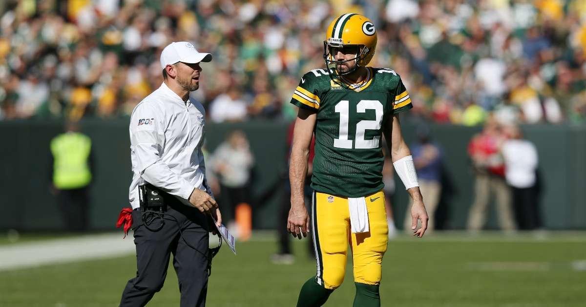 Packers coach Matt LaFleur reacts Aaron Rodgers revealing interview