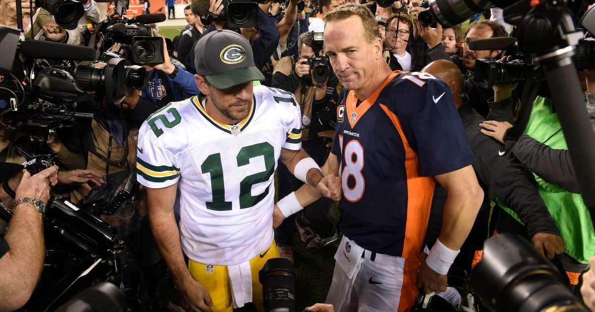 Peyton Manning weighs in Aaron Rodgers Green Bay Packers drama