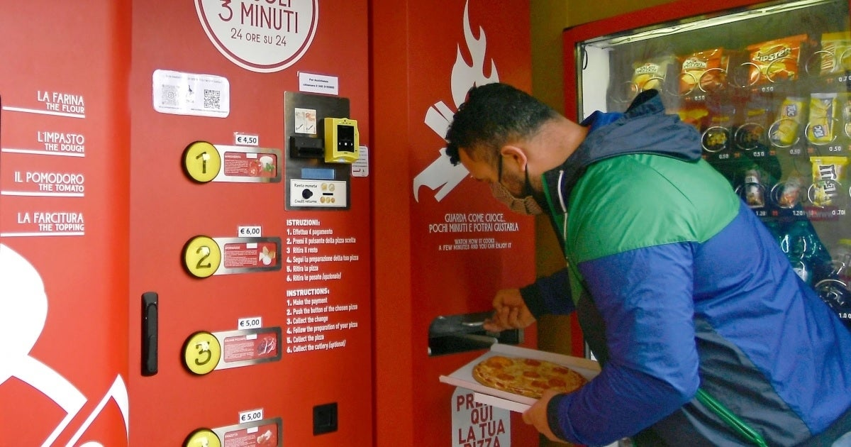 pizza vending machine getty images