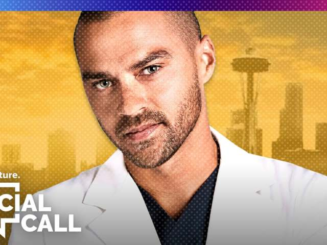 Popculture Social Call - Grey's Anatomy Jesse Williams Announces Exit