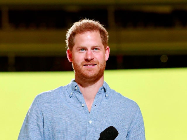 Prince Harry Makes Impassioned Speech at VAX LIVE Concert