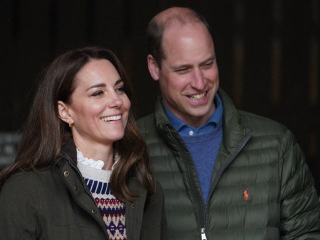 Watch Prince William and Kate Middleton Drive Tractors During Farm Visit