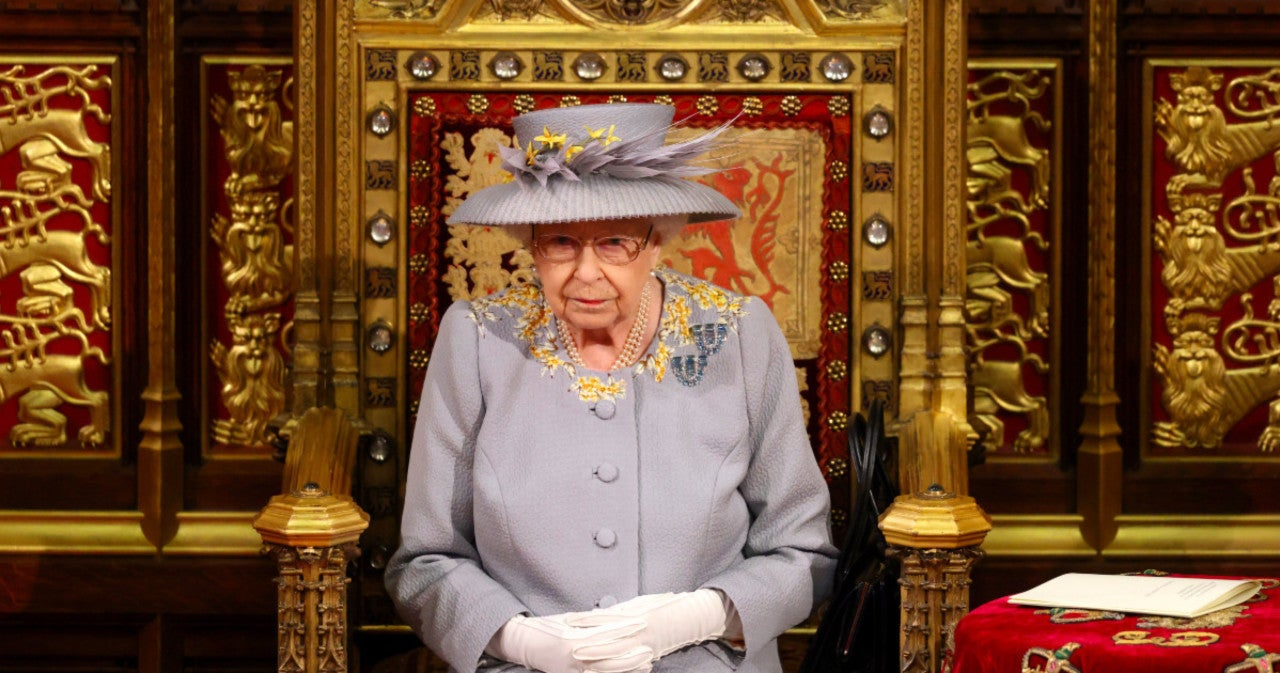 Heartbreaking Moment for Queen Elizabeth as Prince Philip's Throne Left Empty During Speech.jpg