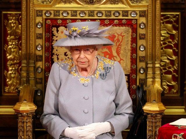 Heartbreaking Moment for Queen Elizabeth as Prince Philip's Throne Left Empty During Speech