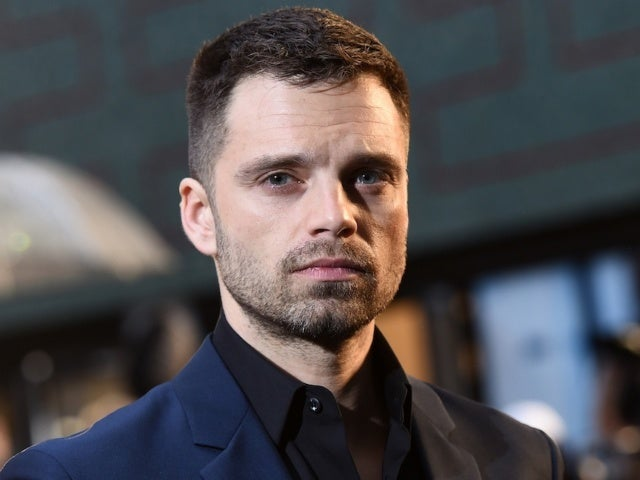 Sebastian Stan Flips the Bird in Second Photo as Tommy Lee for Hulu Show
