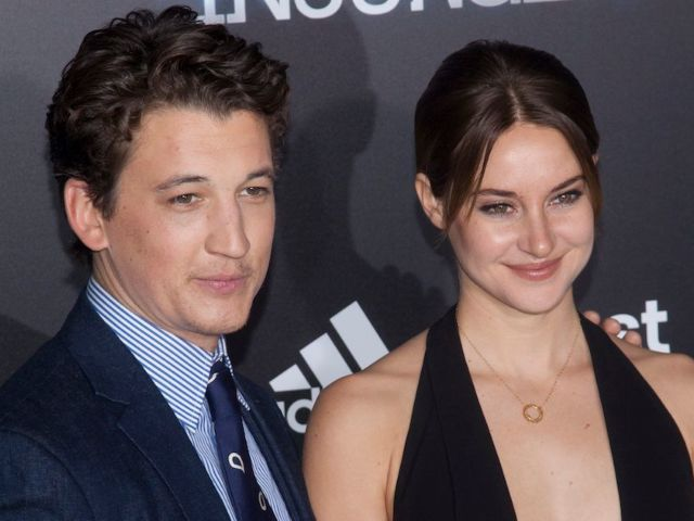 Shailene Woodley Reunites With 'Divergent' Co-Star Miles Teller at Kentucky Derby