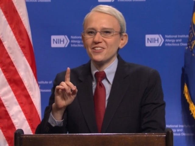 'SNL' Cold Open Parodies CDC's New Mask Rules