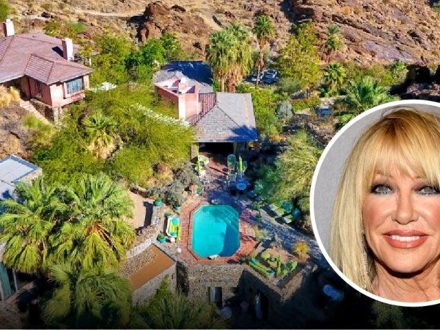 Peek Inside Suzanne Somers' $8.5M Palm Springs Estate