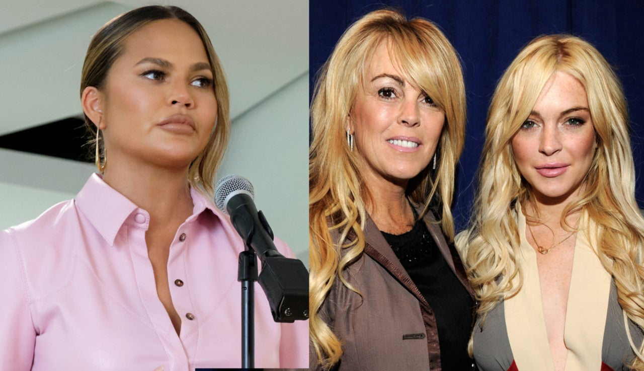 Lindsay Lohan's Mother Dina Lashes out at Chrissy Teigen Amid Twitter 'Bullying' Revelations.jpg