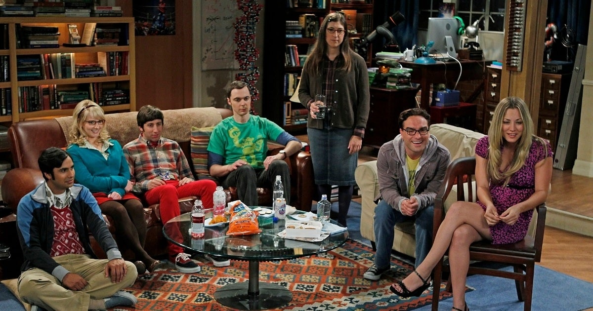the big bang theory cast cbs getty images