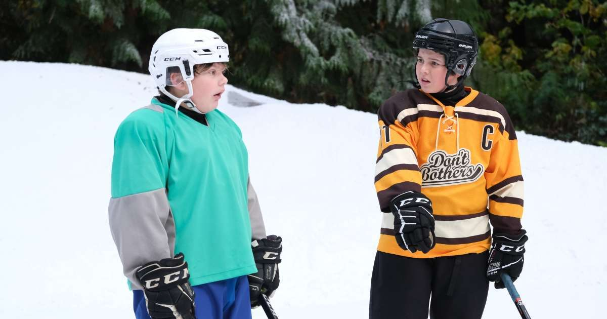The Mighty Ducks Game Changers The Don't Bothers Argue Evan's betrayal clip