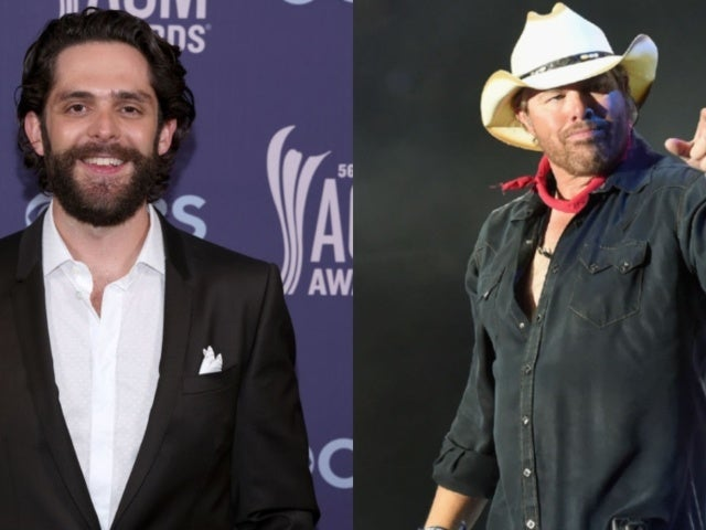 Thomas Rhett Was Once Scolded by Toby Keith Before a Show
