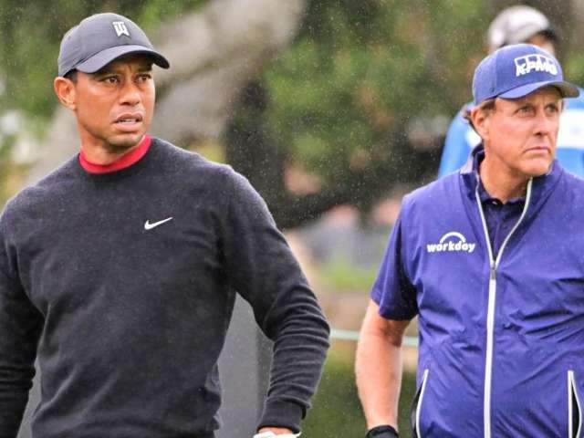 Tiger Woods Sends 'Inspirational' Message to Phil Mickelson After Winning PGA Championship