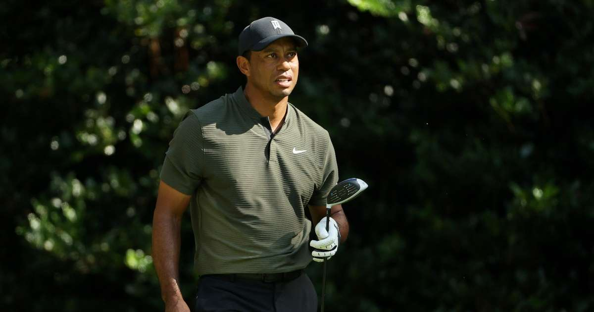 Tiger Woods spotted rare public appearance