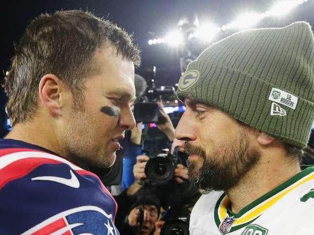 Tom Brady Trolls Aaron Rodgers Over NFC Championship Game Play