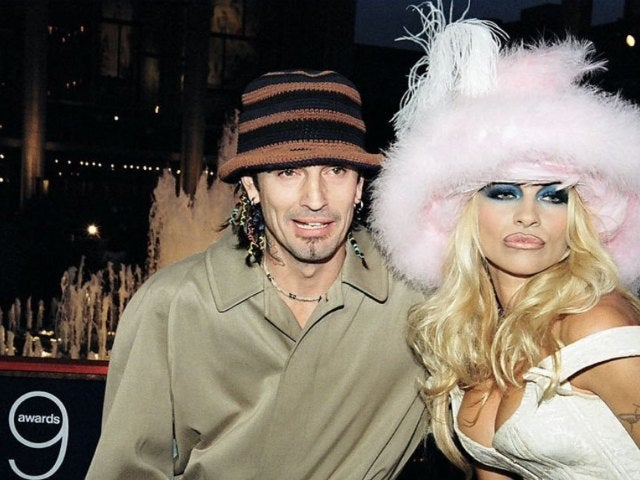 Sebastian Stan and Lily James Transform into Tommy Lee and Pamela Anderson in New Photos