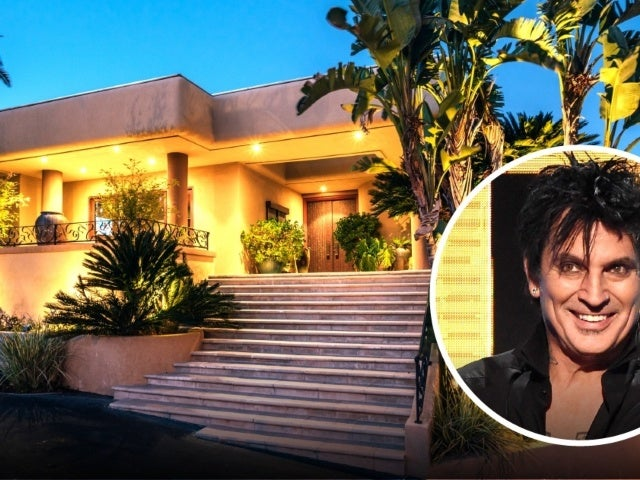 Tour Tommy Lee's Nearly 10,000-Square Foot $4.49M Calabasas Mansion