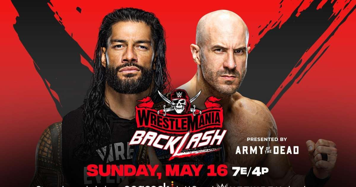 WrestleMania Backlash time channel how to watch