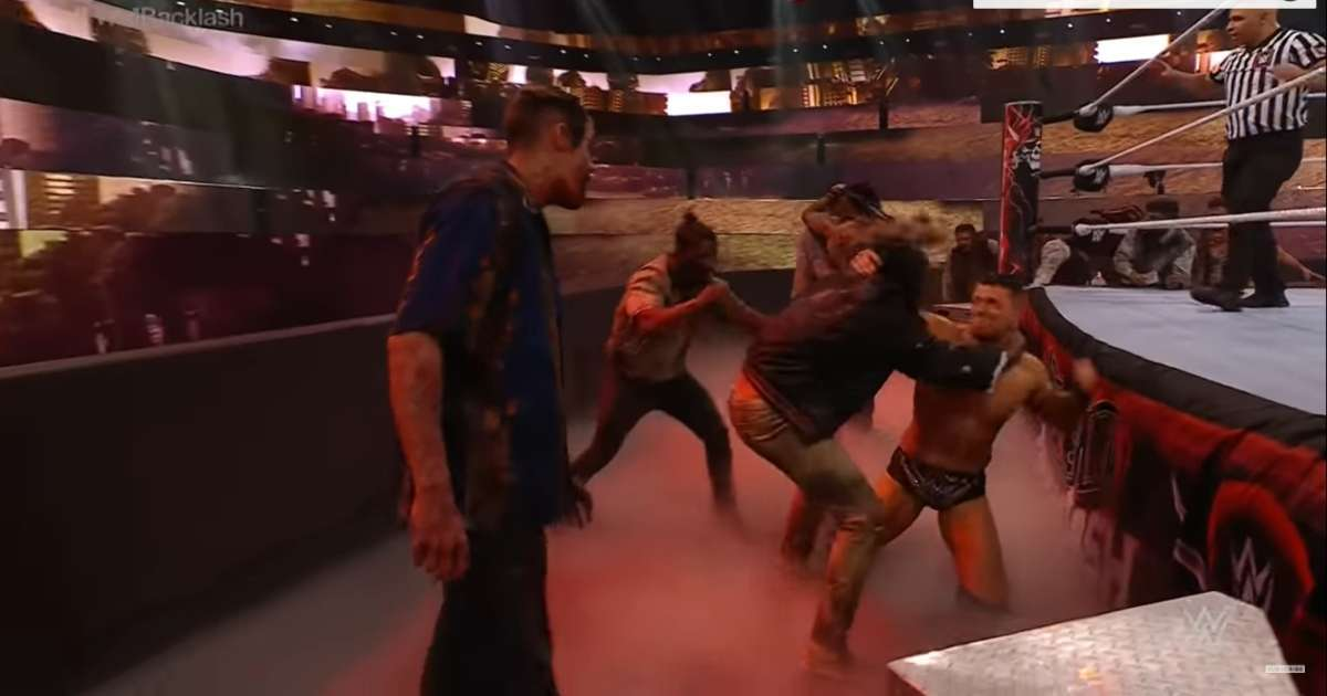 Zombies take over WrestleMania Backlash fans lose it