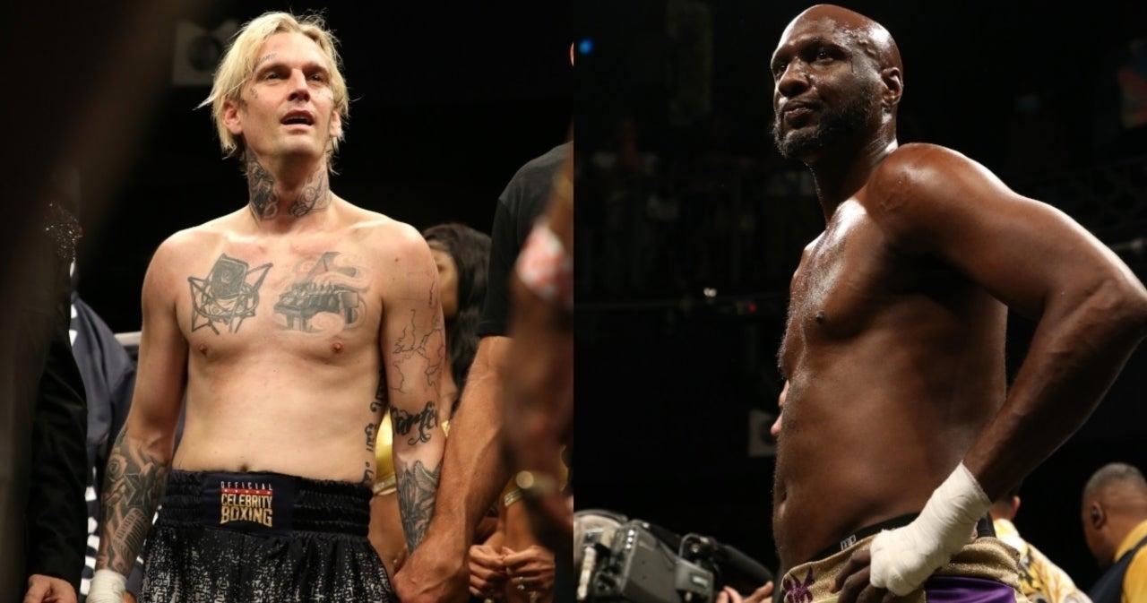 Watch: Lamar Odom KOs Aaron Carter in Dominant Celebrity Boxing Match.jpg