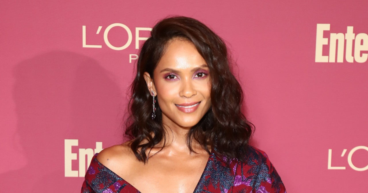 'Lucifer' Star Lesley-Ann Brandt Shares Sweet Photo With Husband and Son.jpg