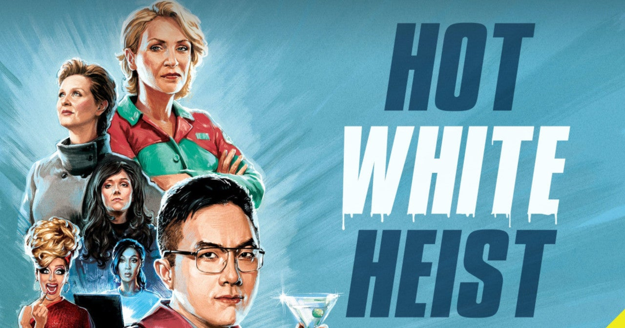 Listen to Bowen Yang, Jane Lynch and All-Star Cast Plan Their 'Hot White Heist' in Exclusive Podcast Clip.jpg