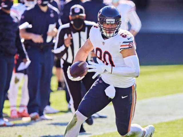 Bears' Jimmy Graham Recounts Scary Rollover Car Accident