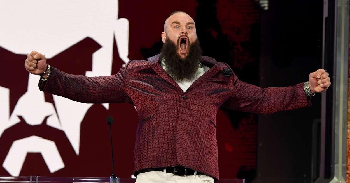 Braun Strowman issues statement being released WWE