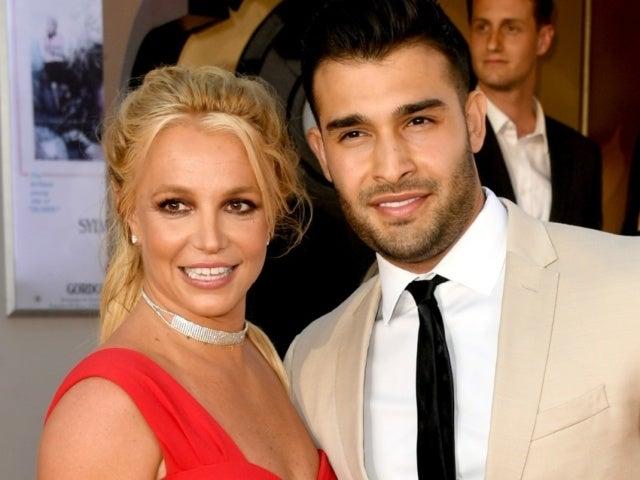 Britney Spears Sparks Sam Asghari Engagement Rumors With Huge Diamond Ring