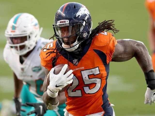 Broncos' Melvin Gordon Reacts to Aaron Rodgers Trade Rumors