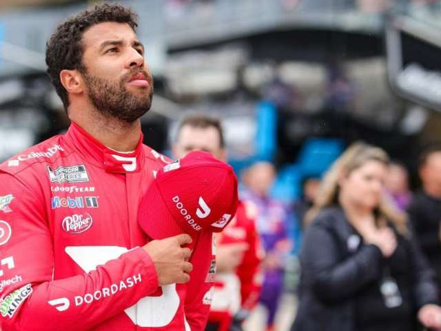 Bubba Wallace Praises NASCAR for Being More Diverse (Exclusive)