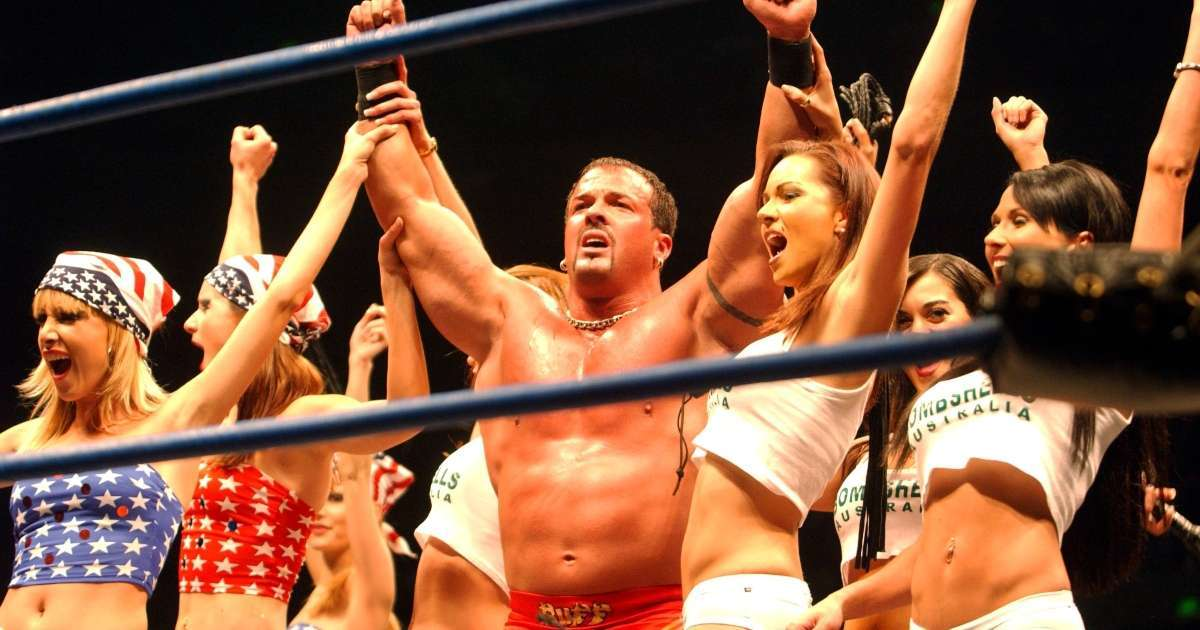 Buff Bagwell speaks out recent arrest takes shirt off flex mid interview