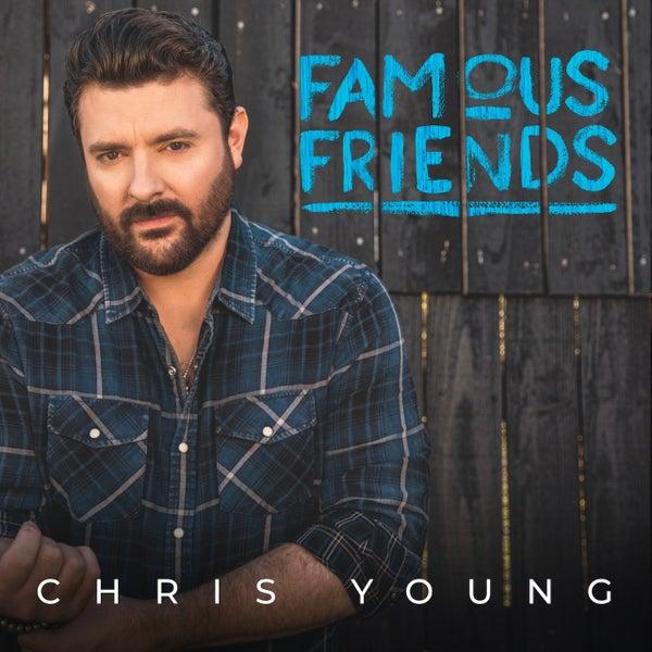 Chris Young Famous Friends album cover LR