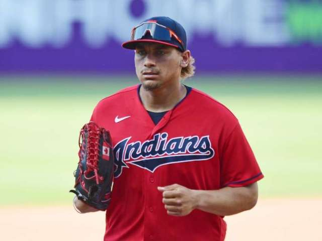 Cleveland Indians' Josh Naylor Suffers Gruesome Injury After On-Field Collision