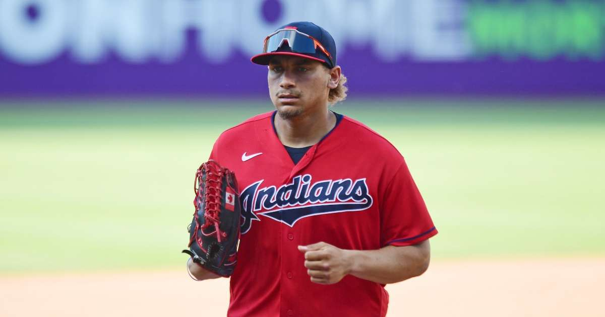 Cleveland Indians Josh Naylor suffers gruesome injury on field collision