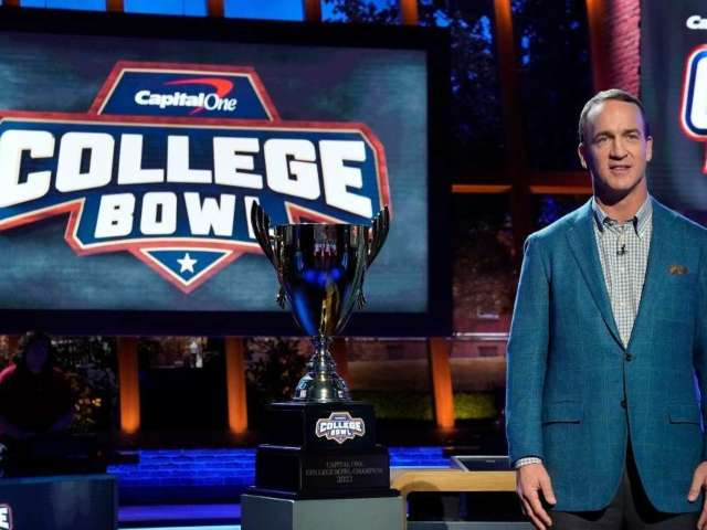 'College Bowl' With Peyton Manning: How to Watch and What Time Is the New NBC Game Show