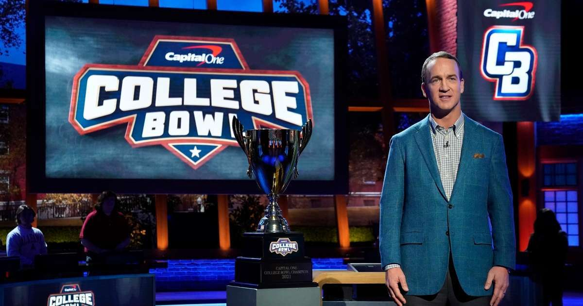 College Bowl Peyton Manning How to Watch what time NBC game show