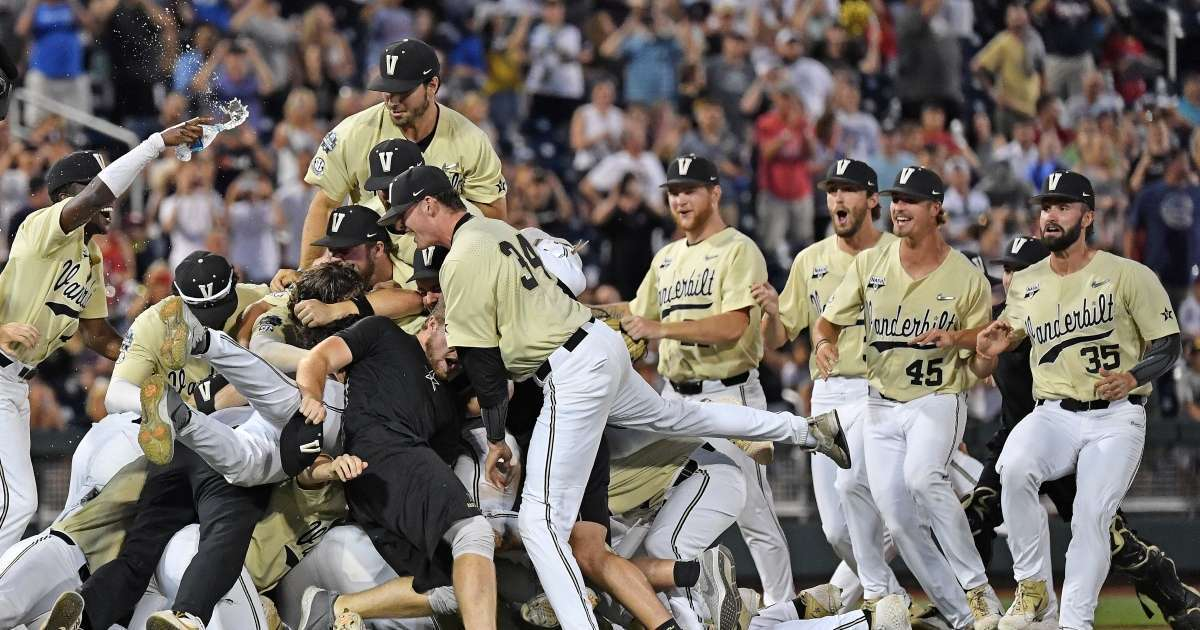 College World Series Finals 2021 Time Channel How to Watch Vanderbilt vs Mississippi State