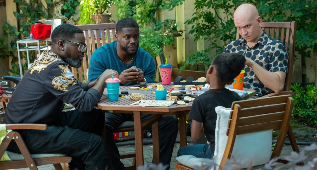 Netflix's 'Fatherhood': Stars Lil Rel Howery and Anthony Carrigan Talk Movie's Heart and Humor (Exclusive).jpg