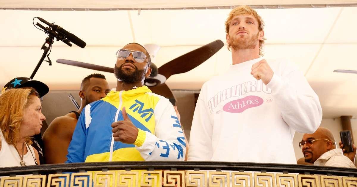 Floyd Mayweather Logan Paul fight winner