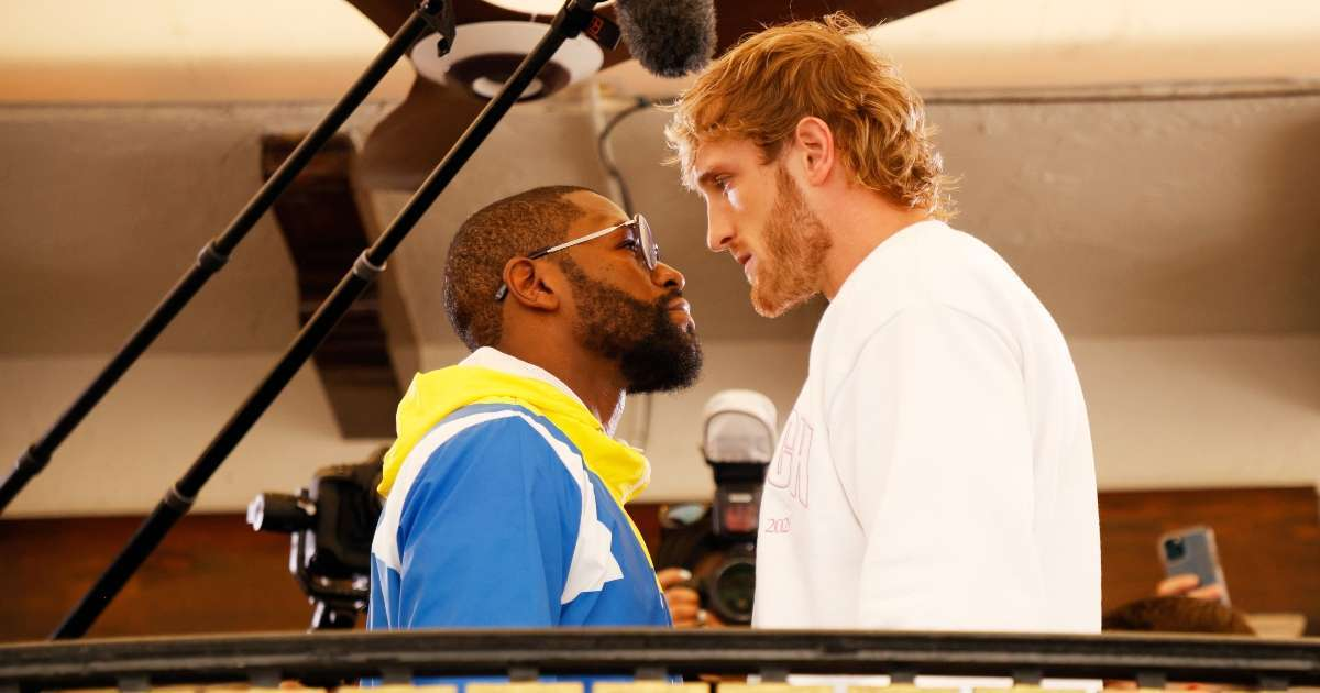 Floyd Mayweather Logan Paul time channel how to watch