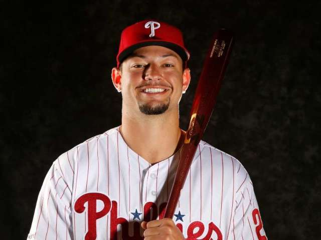 Former Phillies Player Leaving Baseball to Pursue NFL Career