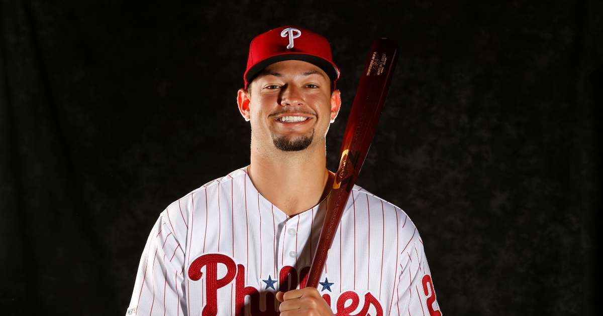 Former Phillies player Dylan Cozens leaving baseball pursue NFL career
