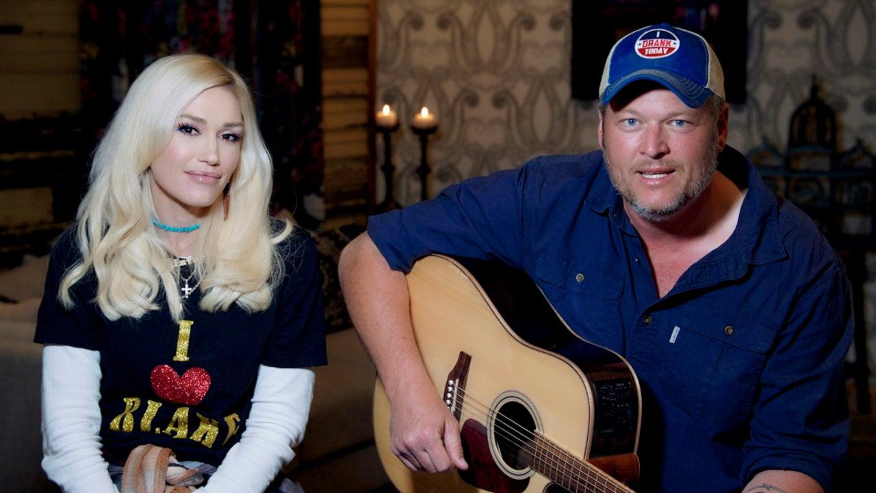 Blake Shelton and Gwen Stefani Spark Rumors of Secret Wedding After New Photos.jpg